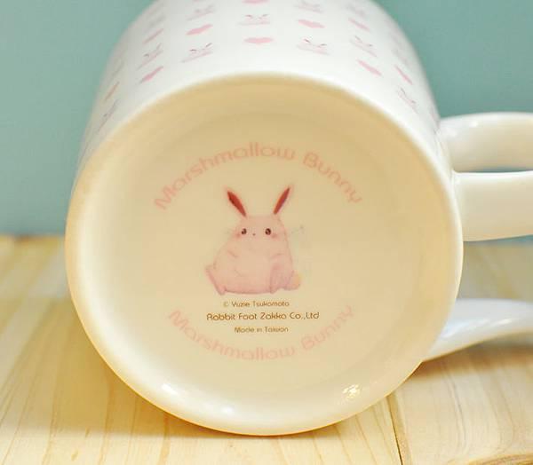 棉花糖兔馬克杯1