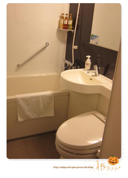 京阪札幌飯店房間圖-浴室