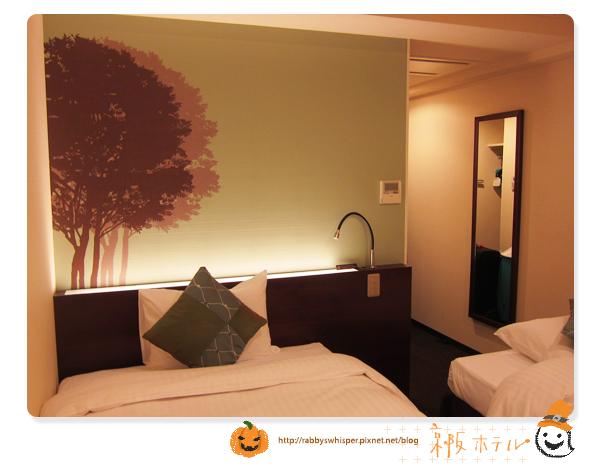 京阪札幌飯店房間圖-twin