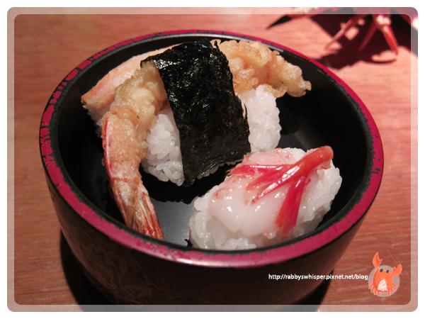 蝦蟹合戰えびかに合戦壽司