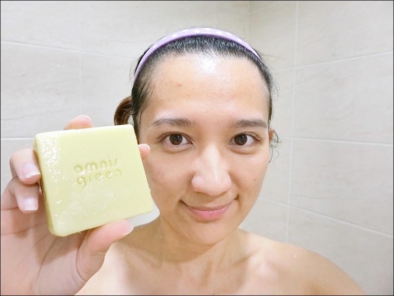 洗臉清爽-歐米綠天然手工皂推薦