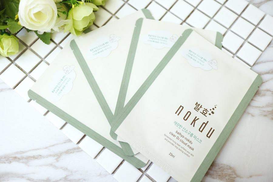 韓國天然有機護膚保養品牌 -  Coreana nokdu11.JPG