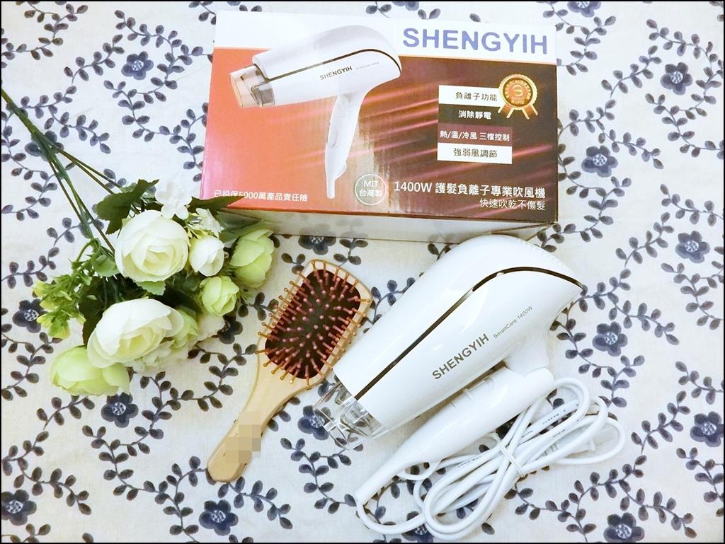 Sheng Yih沙龍級雙負離子護髮大風量吹風機0.JPG