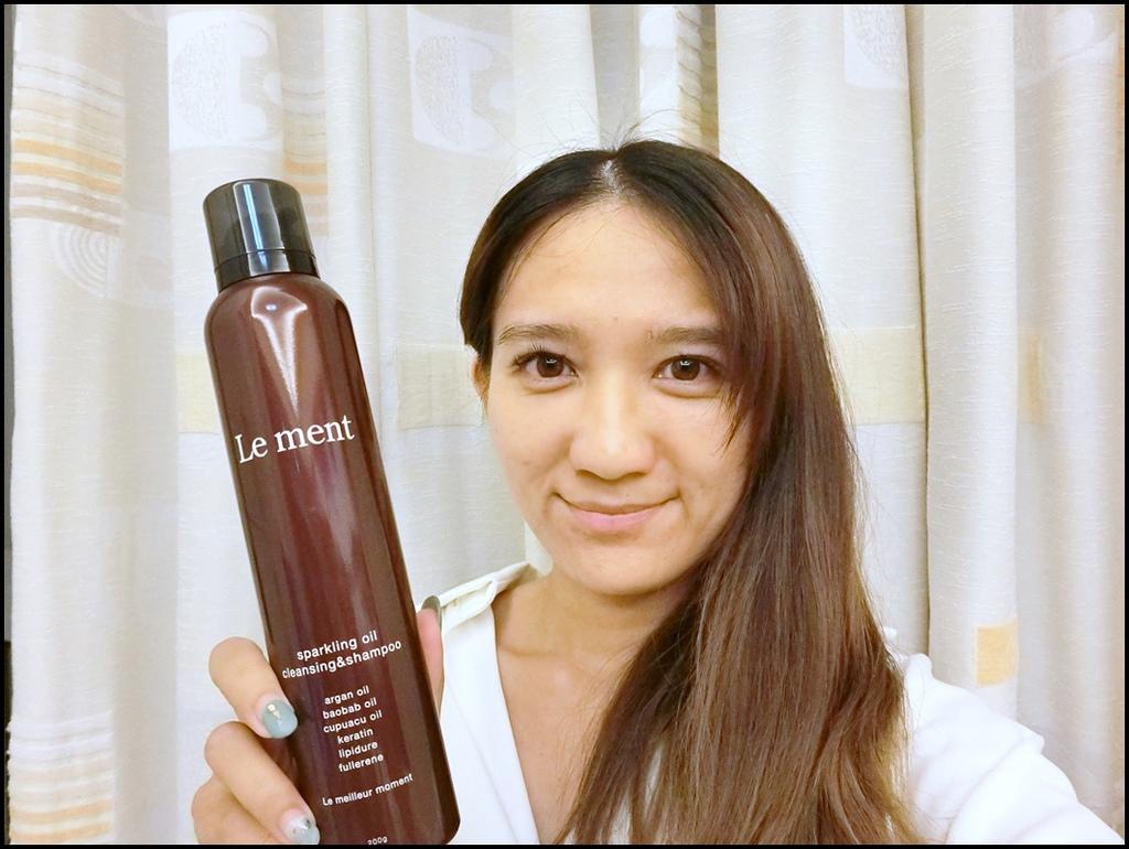 Le ment碳酸精油 深層淨化洗髮精 %26; Le ment 修護髮膜18.JPG
