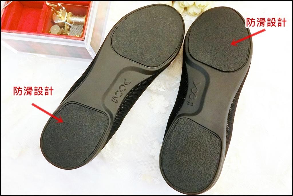 inooknit ~ 巢紋點綴樂福鞋4.JPG