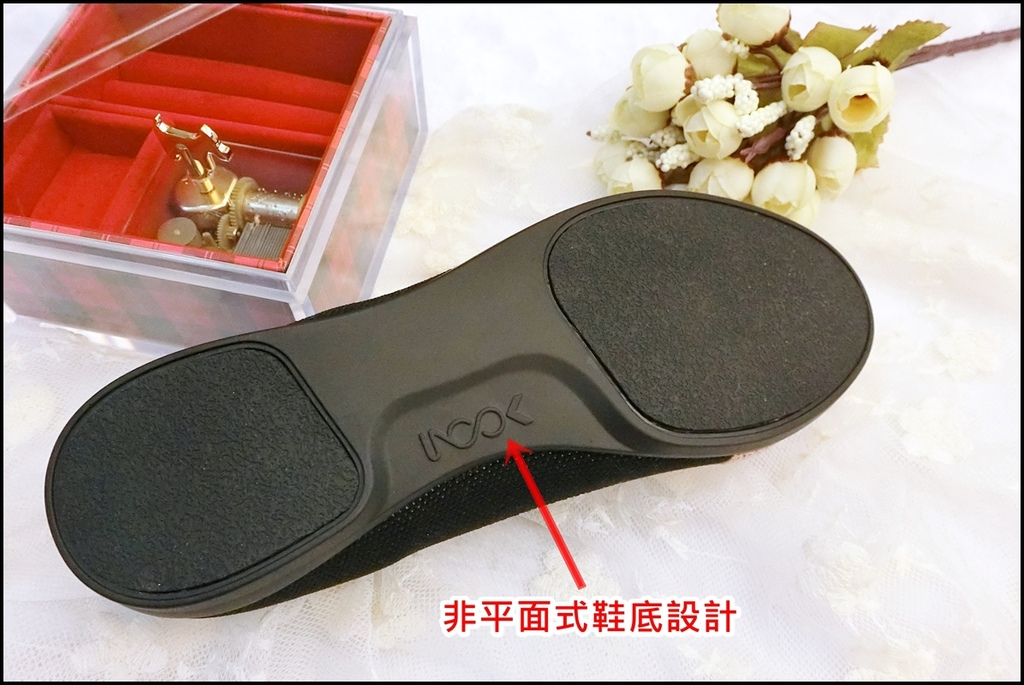 inooknit ~ 巢紋點綴樂福鞋5.JPG