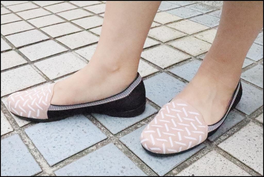 inooknit ~ 巢紋點綴樂福鞋12.JPG