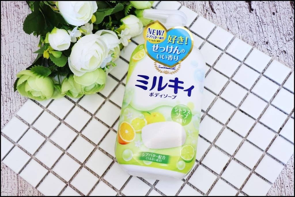 Milky牛乳精華沐浴乳0.JPG