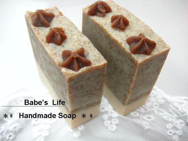 No45 芝麻綠豆洗顏皂2