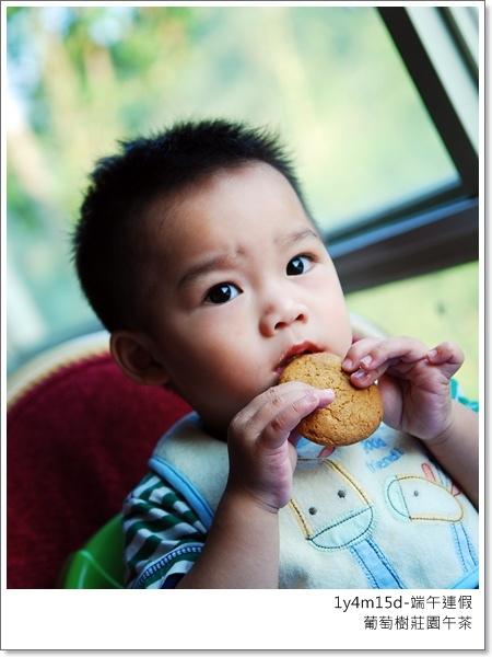 吃餅乾也很厲害
