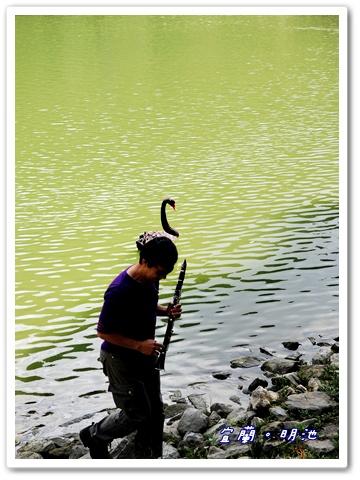 池畔旁還有音樂可以聽