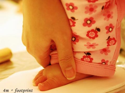 胖腳的腳印