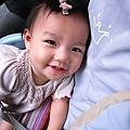 我的小lulu一直都笑的很靦腆(右臉的黑青有夠青XD)