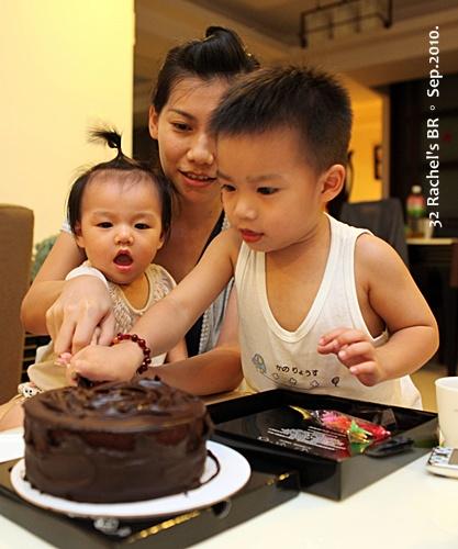 一起切蛋糕