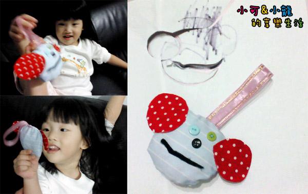 小可創作-給弟弟小龍的布娃娃-1