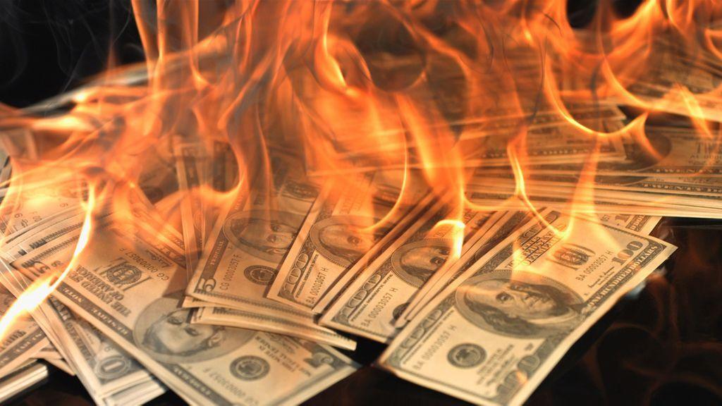 Worthless-paper-money