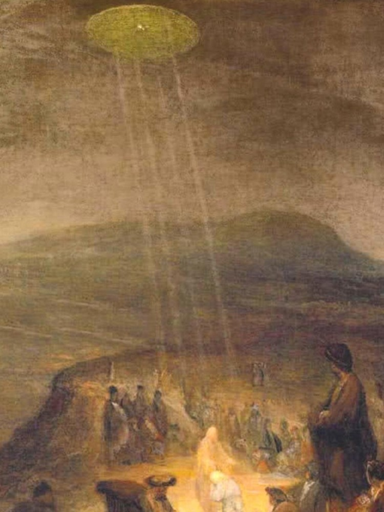 The Baptism of Christ by Flemish artist Aert De Gelder