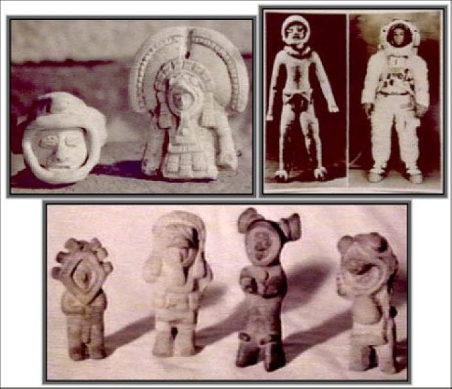 figurines found in Ecuador