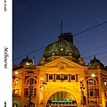 23. Flinders Street Station at night