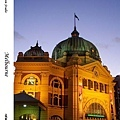 24. Flinders Street Station at night
