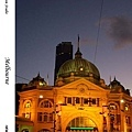 25. Flinders Street Station at night