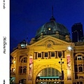 26. Flinders Street Station at night
