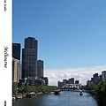 67. Footbridge in Melbourne Yarra River