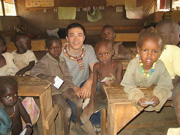 純真的非洲朋友