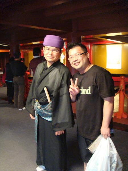 裡面的服務人員都穿傳統沖繩服裝