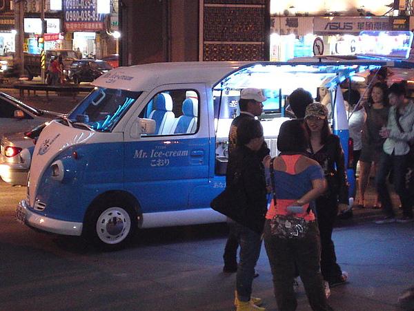 冰淇淋餐車