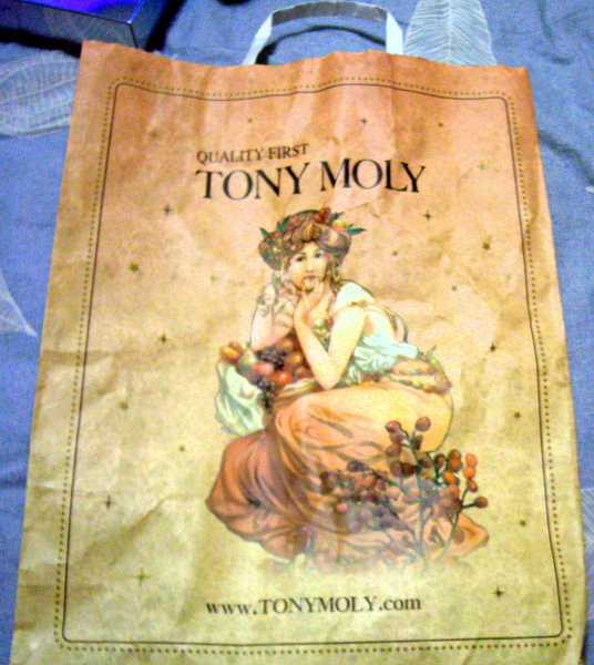 TONY MOLY-韓國新人氣美妝店之購物袋