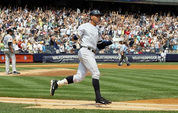 A-Rod Hits 600th Home Run