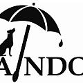 有傘遮雨的雨狗