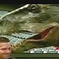 恐龍入侵球場