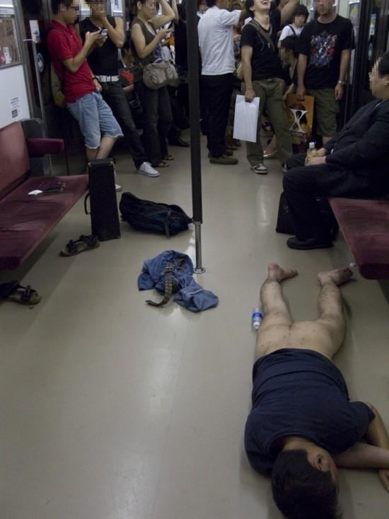 更多電車醉漢