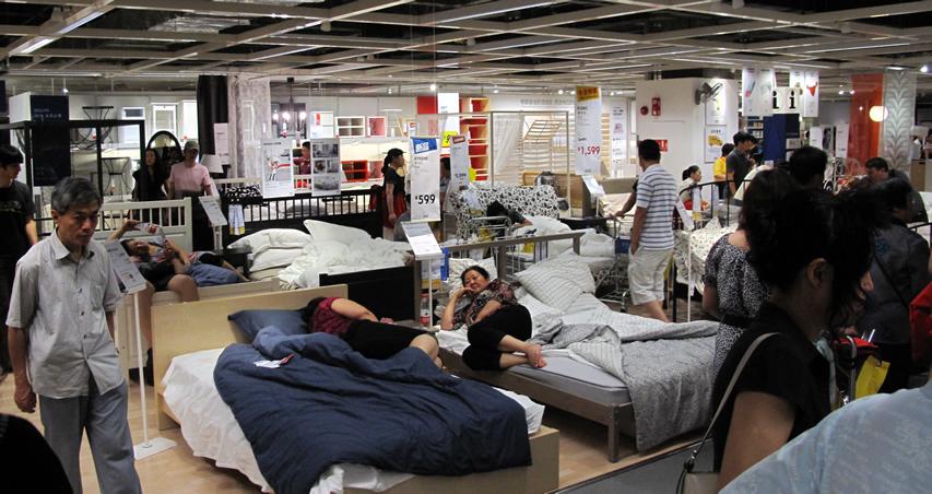 上海IKEA淪陷了!