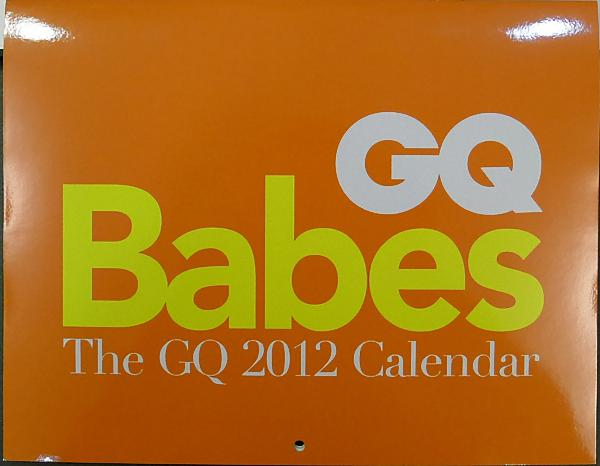 GQ Babes 2012月曆