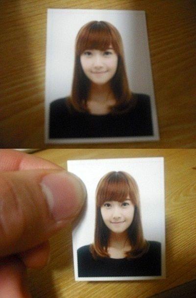 少女時代 Jessica 證件照