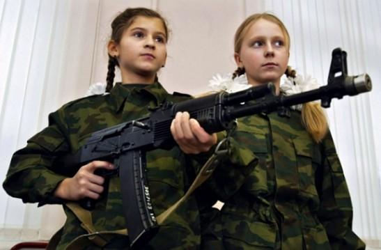 俄女娃娃兵19