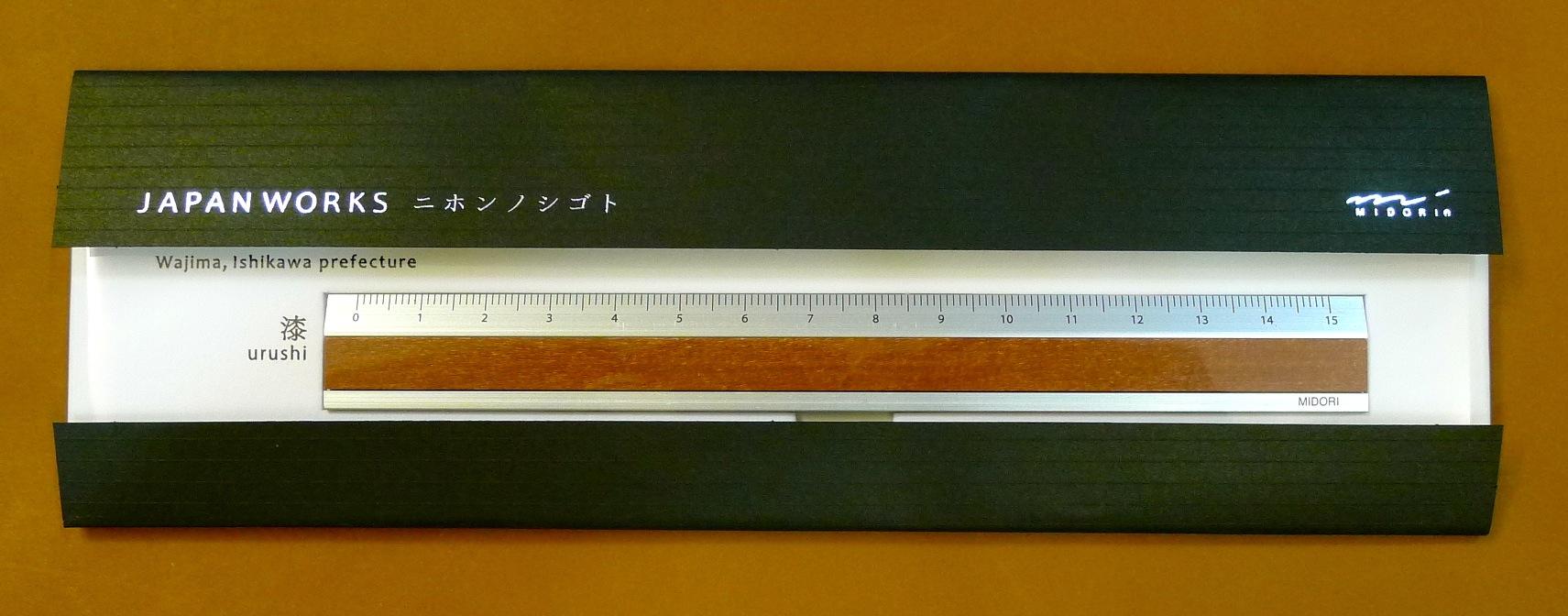 MIDORI JAPAN WORKS 日本名藝尺 (漆 / 石川縣 輪島)