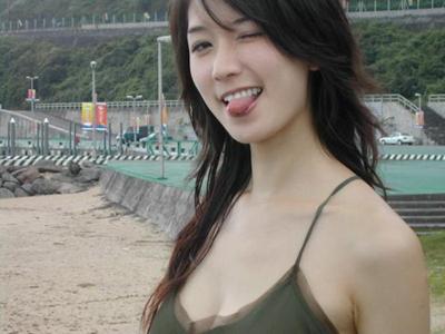 林志玲 鬼臉