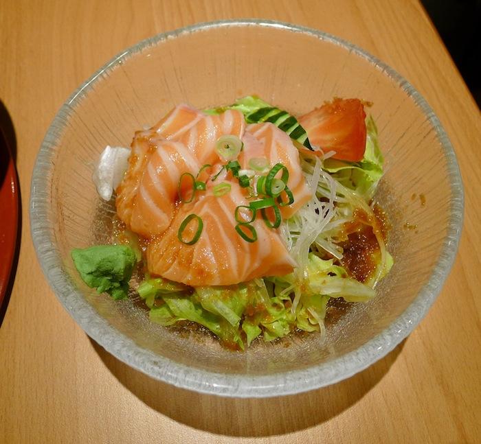 鮭魚刺身沙拉