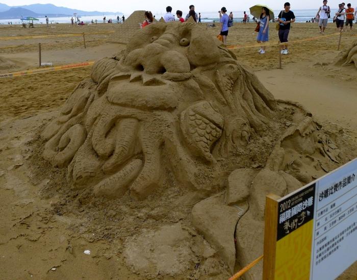 2012福隆國際沙雕藝術季45