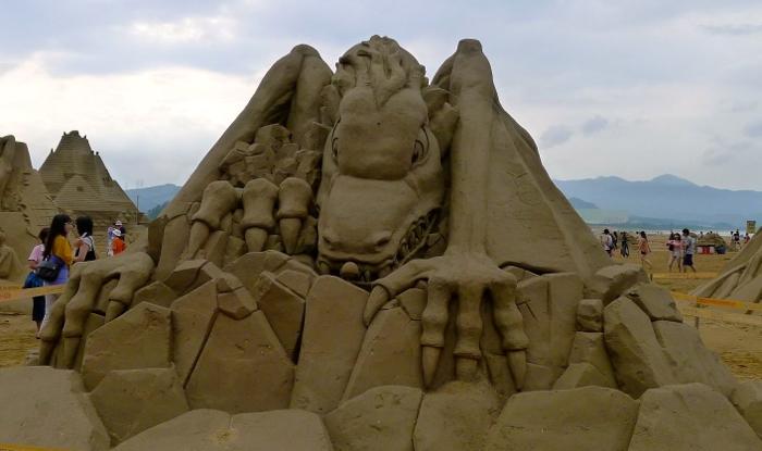 2012福隆國際沙雕藝術季08