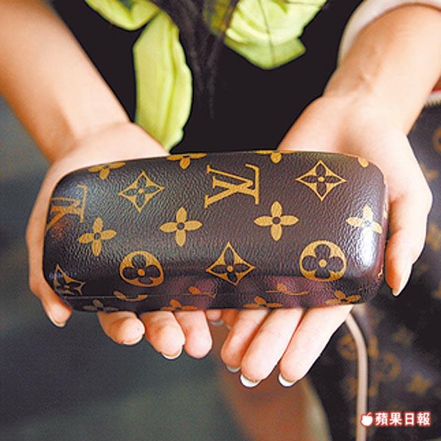 陳雅柔  眼鏡盒 LV 9000元