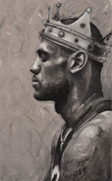 真王者!King James