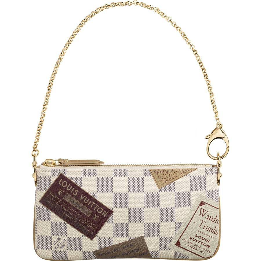 Louis Vuitton Damier Azur Canvas Pochette Milla MM