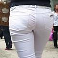 白褲下的內褲痕 010
