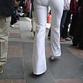 白褲下的內褲痕 034