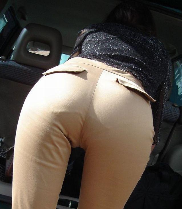 卡其褲內褲痕 33